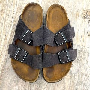 Birkenstock Arizona Soft Footbed Charcoal Gray 37